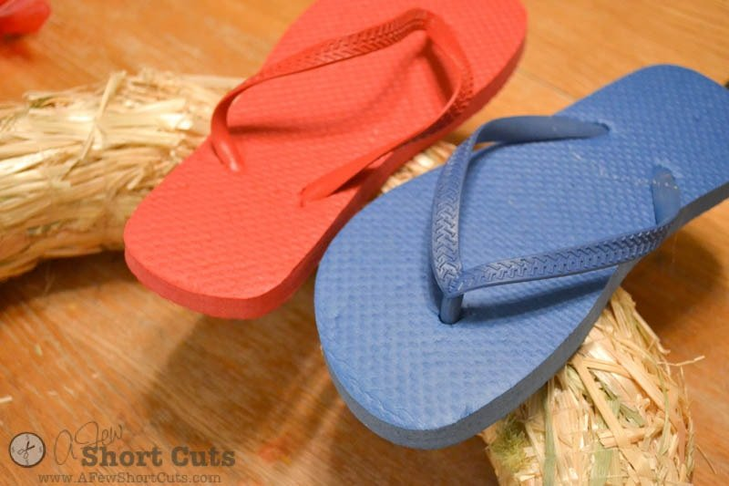 Summer Flip Flop Wreath-2