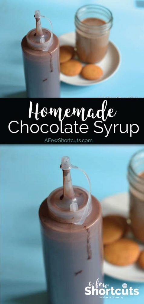 Who knew it was so simple to make this in your own kitchen. Check out this Homemade Chocolate Syrup Recipe. It's perfect for chocolate milk & more
