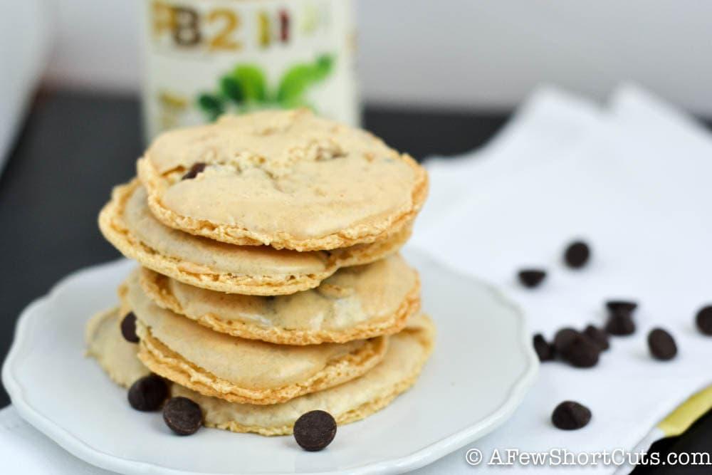 Flourless Peanut Butter Chocolate Chip Cookies-1-3