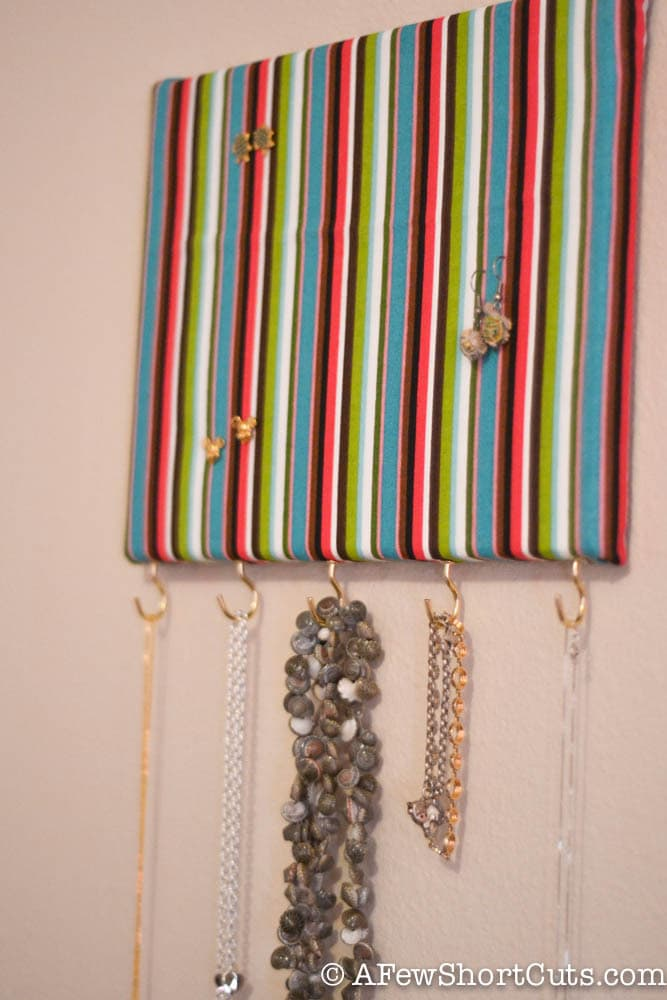 How To Make A Jewelry Holder For Under 5 A Few Shortcuts