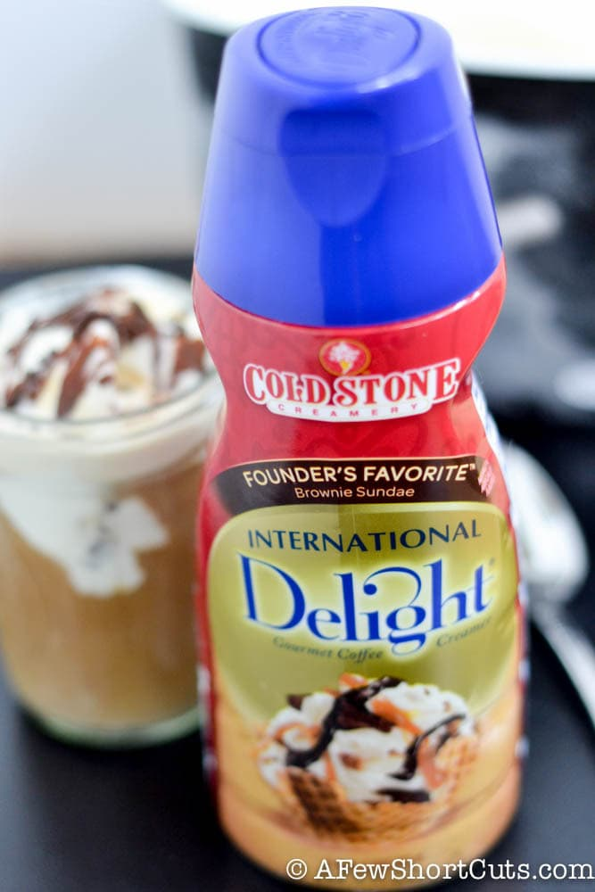 Looking for a summer treat that only a mom could love? Check out this Iced Coffee Float! The perfect Summer pick me up recipe!