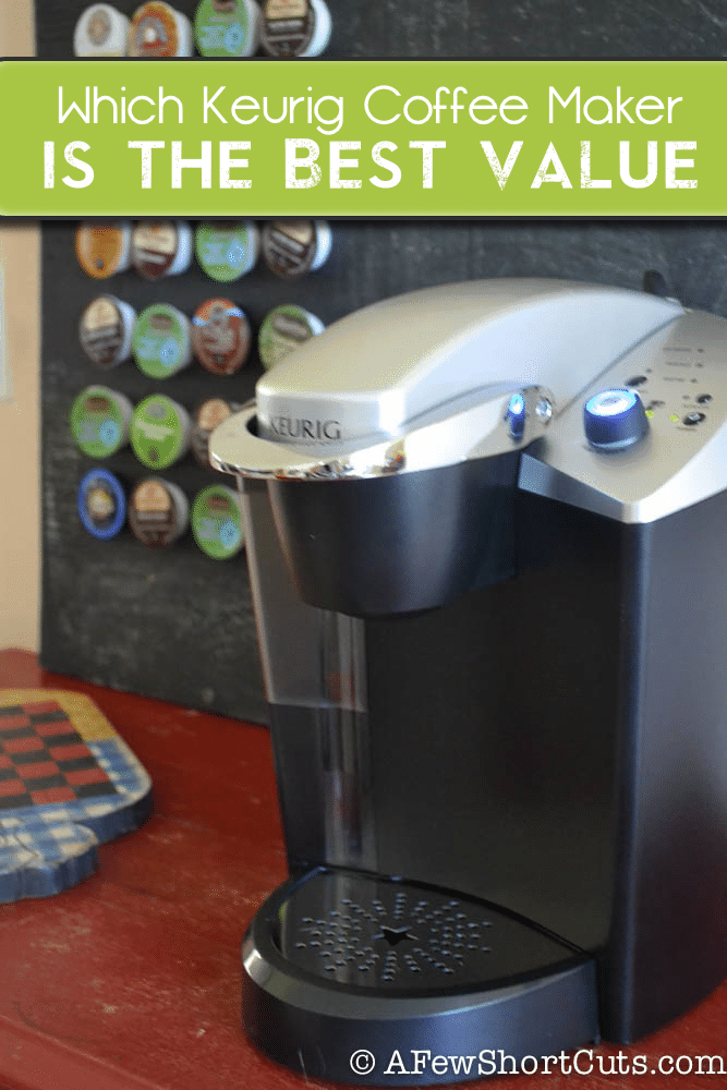 Which Keurig Coffee Maker Is The Best Value A Few Short Cuts