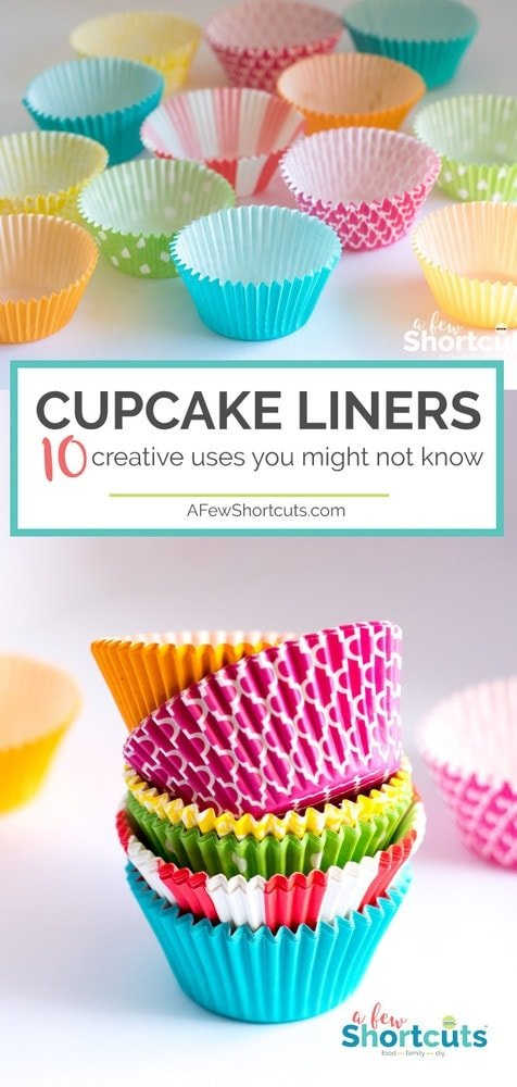 Cupcake Liners can be found in almost every kitchen. Did you know they have so many uses? Check out these 10 Creative uses you might not know.