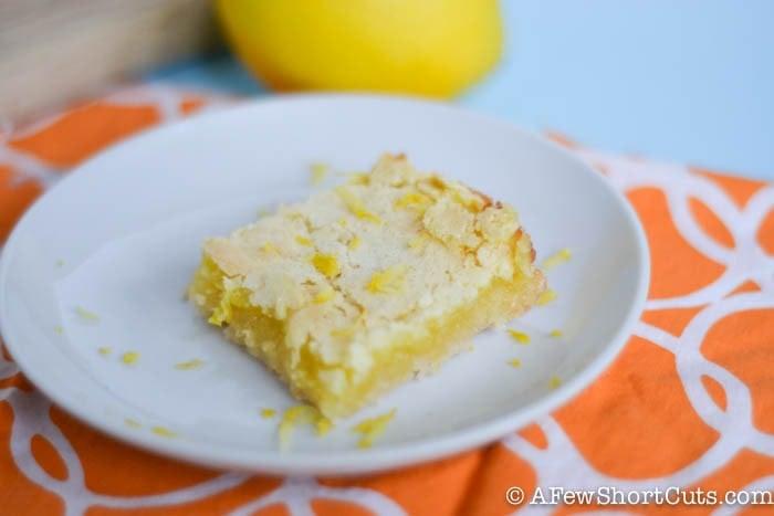 Easy Lemon Bars-7