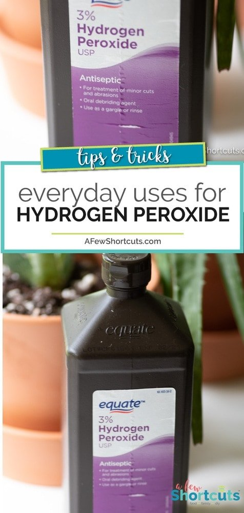 There are so many household uses for Hydrogen Peroxide it would be silly not to keep this cheap but useful item in my cabinet. Check out this list to see just how many things you can use it for in your home.