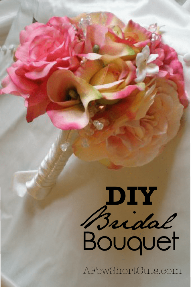 Have a perfect bouquet and save some money! Learn how to make you own DIY Bridal Bouquet!