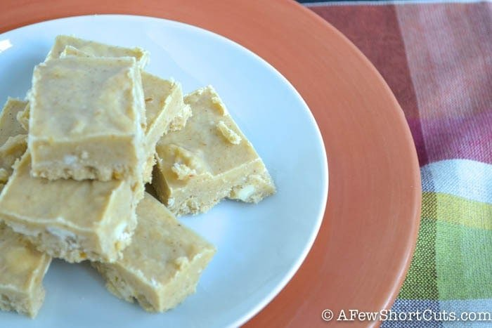 Easy Pumpkin Fudge-2