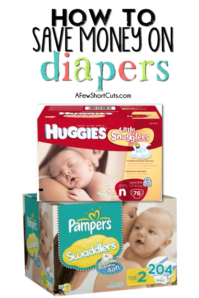 Have a new baby and hate spending money on diapers? Don't we all? Learn How to Save Money on Diapers with these money saving tips!