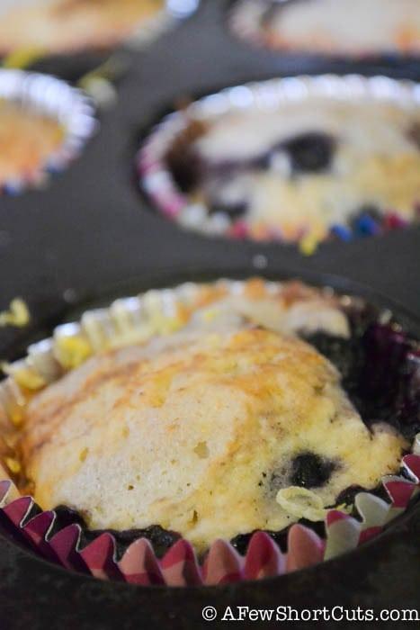 Lemon Blueberry Muffins-3-2