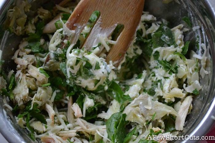 Spinach Artichoke Chicken Biscuit-1