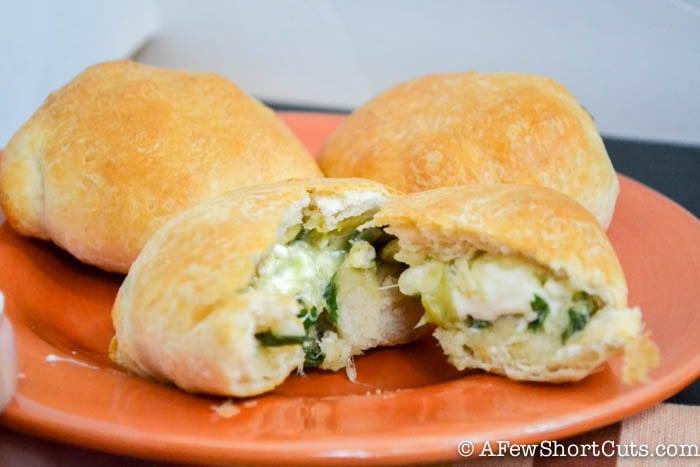 Spinach Artichoke Chicken Biscuit-8