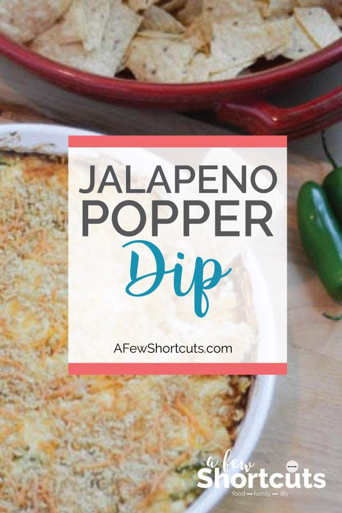 Game day would not be complete without a bowl full of tortilla chips and a batch of this Jalapeno Popper Dip. This recipe is a keeper!