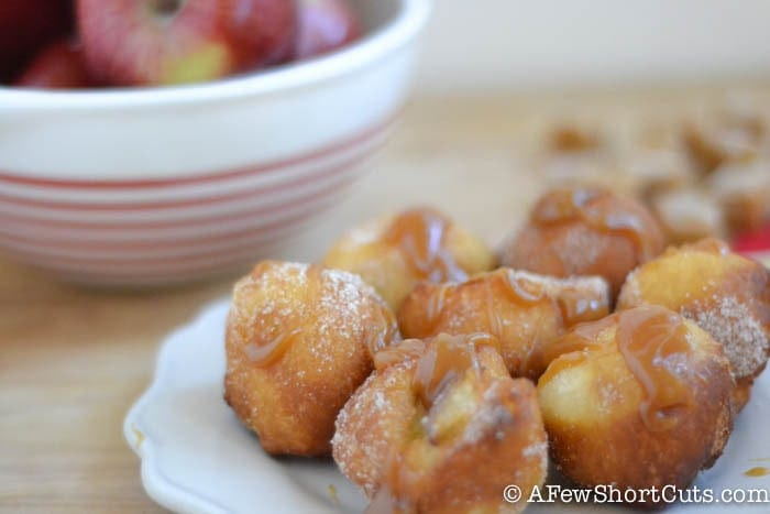 A fall treat worth indulging in. Try this Easy Apple Doughnuts Recipe for a fun breakfast or a tasty dessert. Drizzle with a little caramel for extra fun