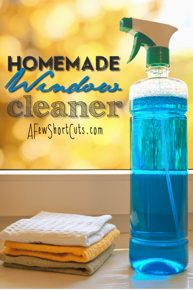 homemade window cleaner a few shortcuts. Black Bedroom Furniture Sets. Home Design Ideas