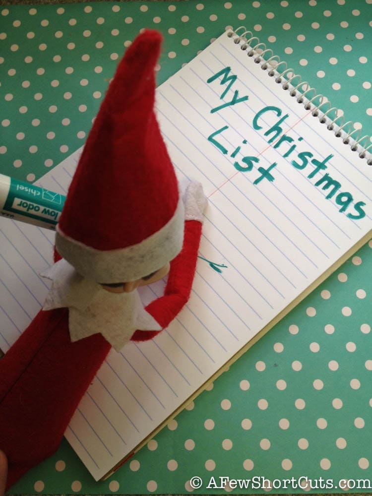 The Making Of Where Do Little Spiders: Elf On The Shelf: Making A Christmas List