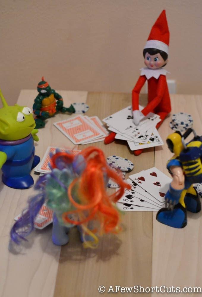 Elf On The Shelf Ideas Poker Night A Few Shortcuts