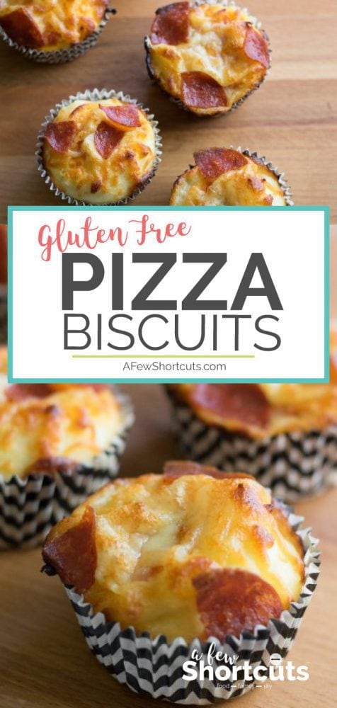 A great gluten free appetizer & perfect for little ones. Try this Easy Gluten Free Pizza Biscuits Recipe. You can even freeze them for later!