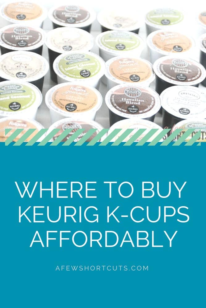 So you have a Keurig, but K-cups can get expensive. Learn Way to Buy Keurig K-cups Affordably while still enjoying your favorite cup of coffee or tea.