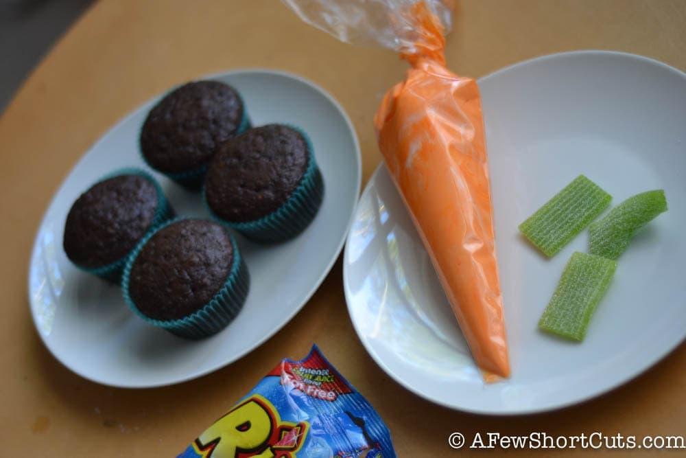 Simple Spring Garden Cupcakes-1-2