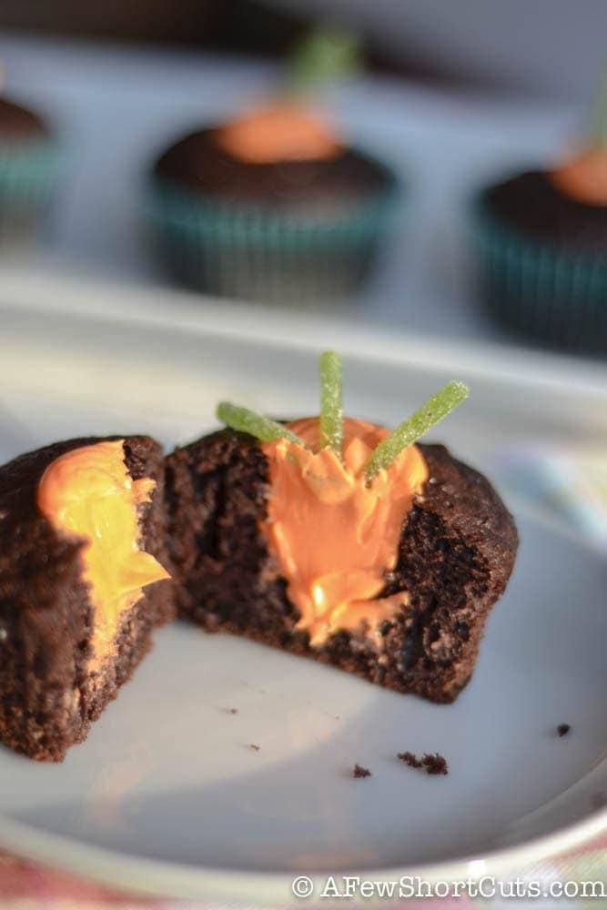 Simple Spring Garden Cupcakes-1-4