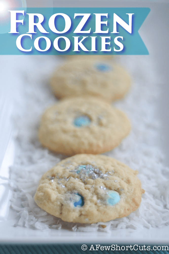 The kids love these simple and amazing Frozen Cookies. Such a fun recipe!