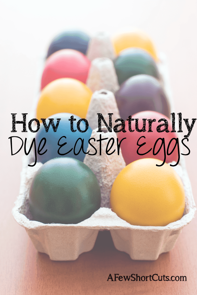 Avoid Chemicals this Easter and learn how to naturally dye Easter Eggs
