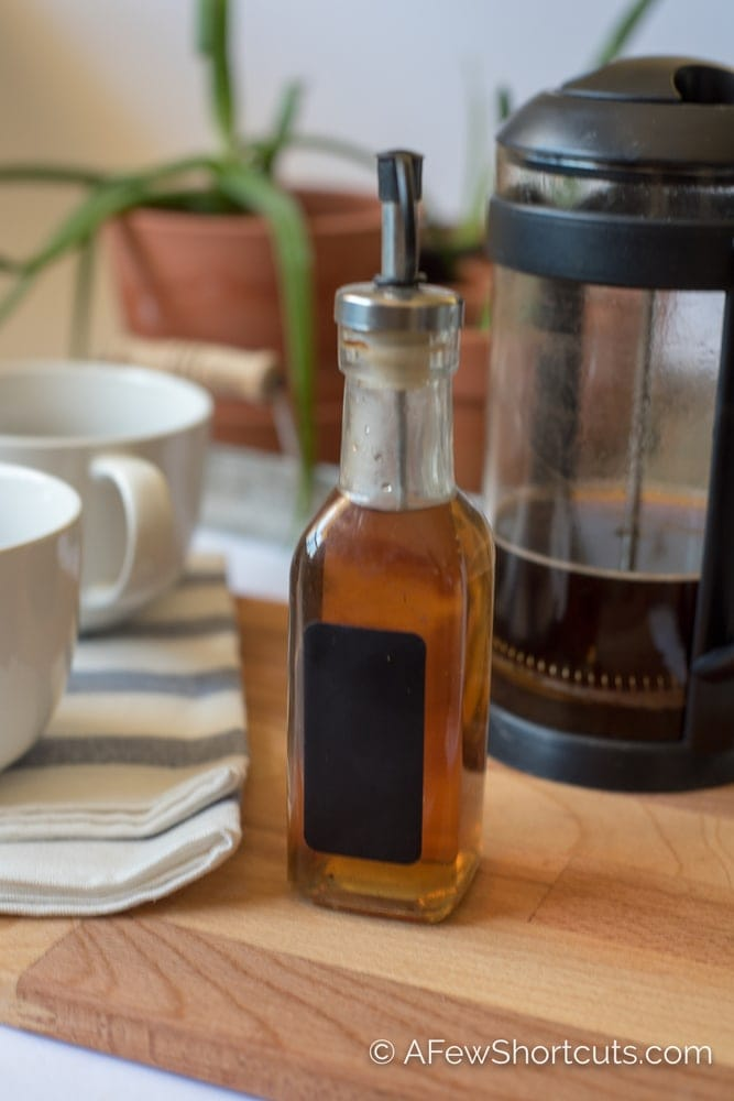 Don't spend a fortune on store-bought syrups! Have cafe style coffee