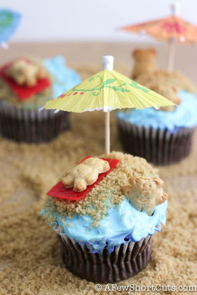 Beach Bum Cupcakes Recipe A Few Shortcuts