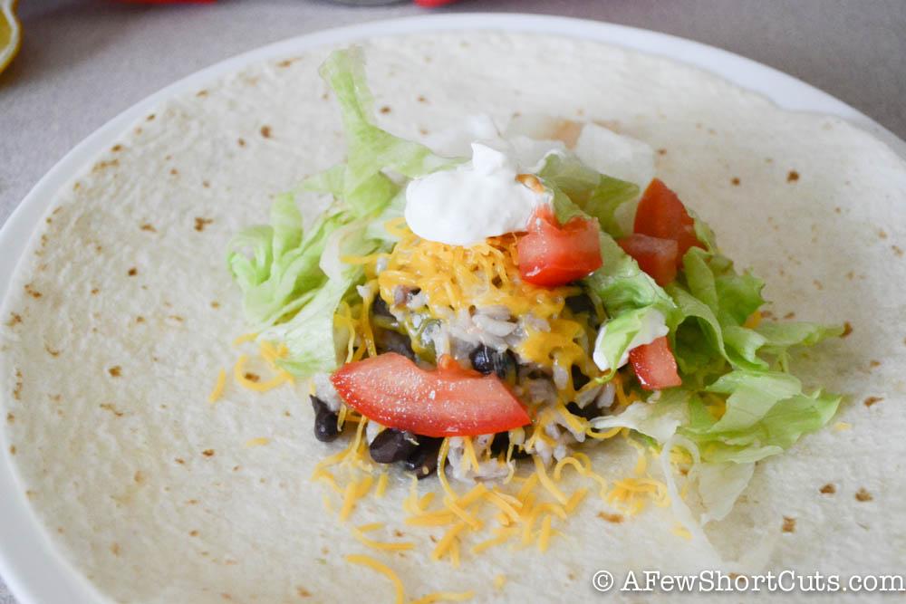 Best Ever Bean & Rice Burritos-1-2