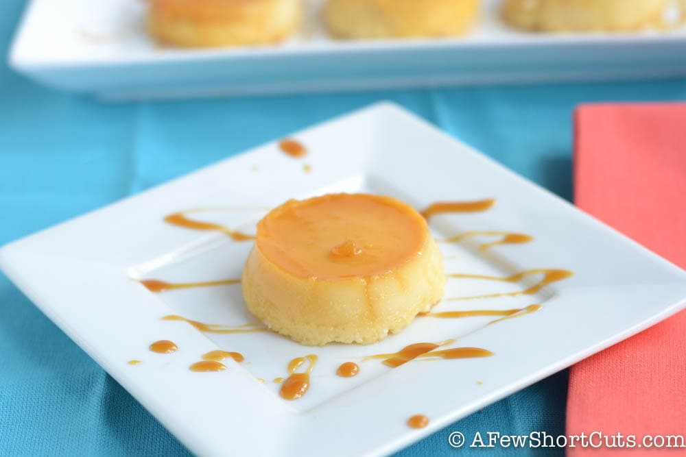 This unique twist on 2 classic desserts will have everyone asking for the recipe. Go now and find out how easy it is to make these Flan Cheesecakes!