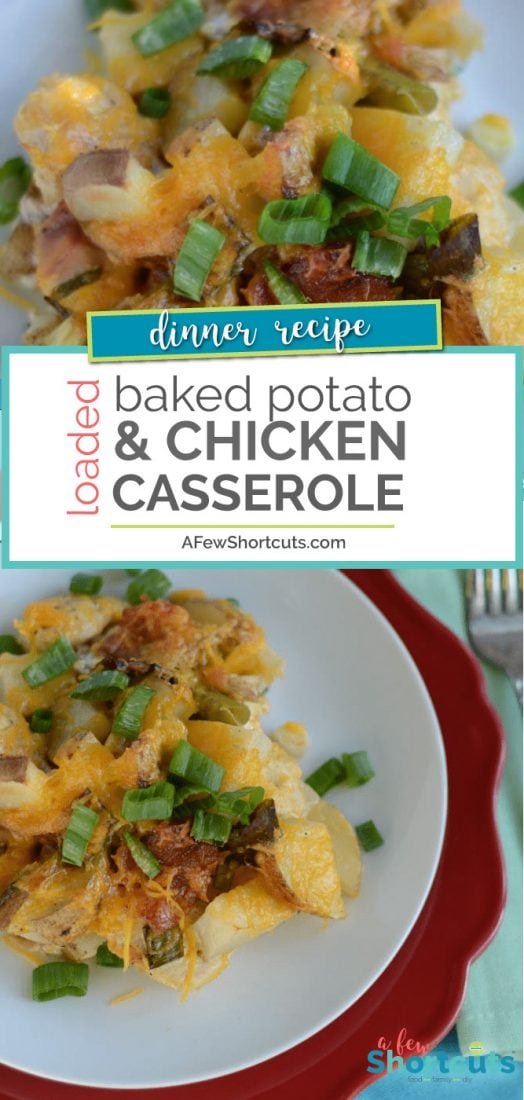 Loaded Baked Potato Amp Chicken Casserole Recipe A Few
