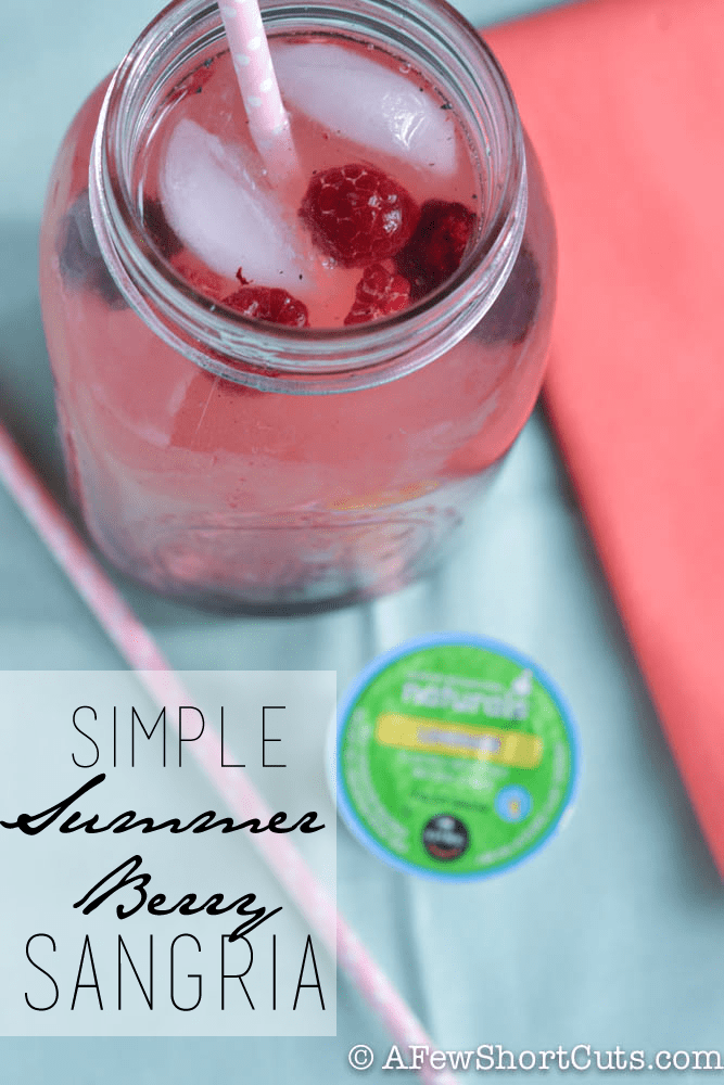 Simple Summer Berry Sangria