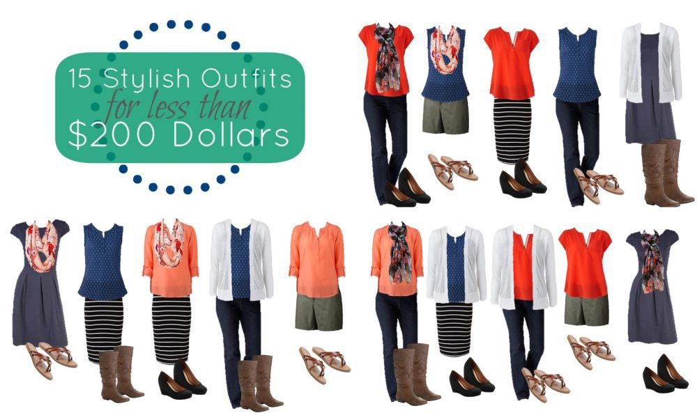 15 Outfits Under $200