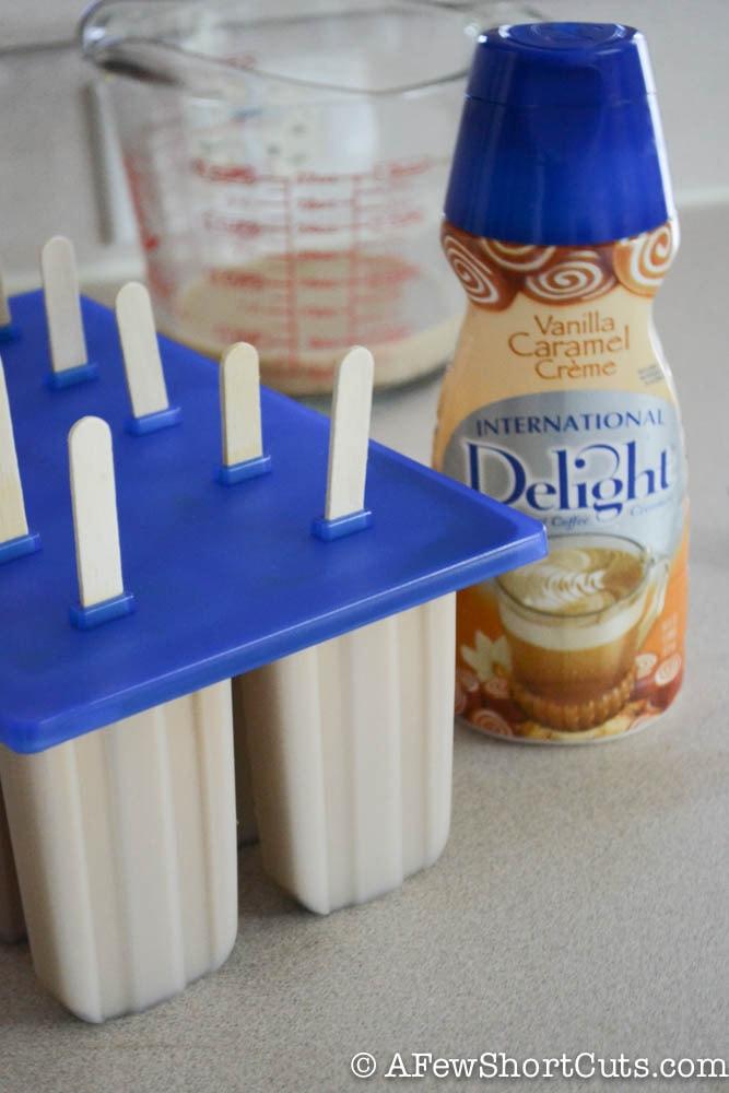 Caramel Mocha Iced Coffee Popsicles-1-5