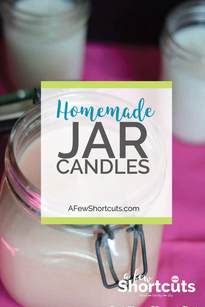 If you love candles, save your money and learn how to make your own homemade jar candles in just minutes. These are so simple to make!