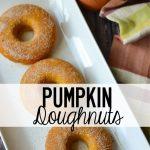 Pumpkin-Doughuts