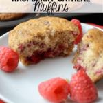 Raspberry-Oatmeal-Muffins