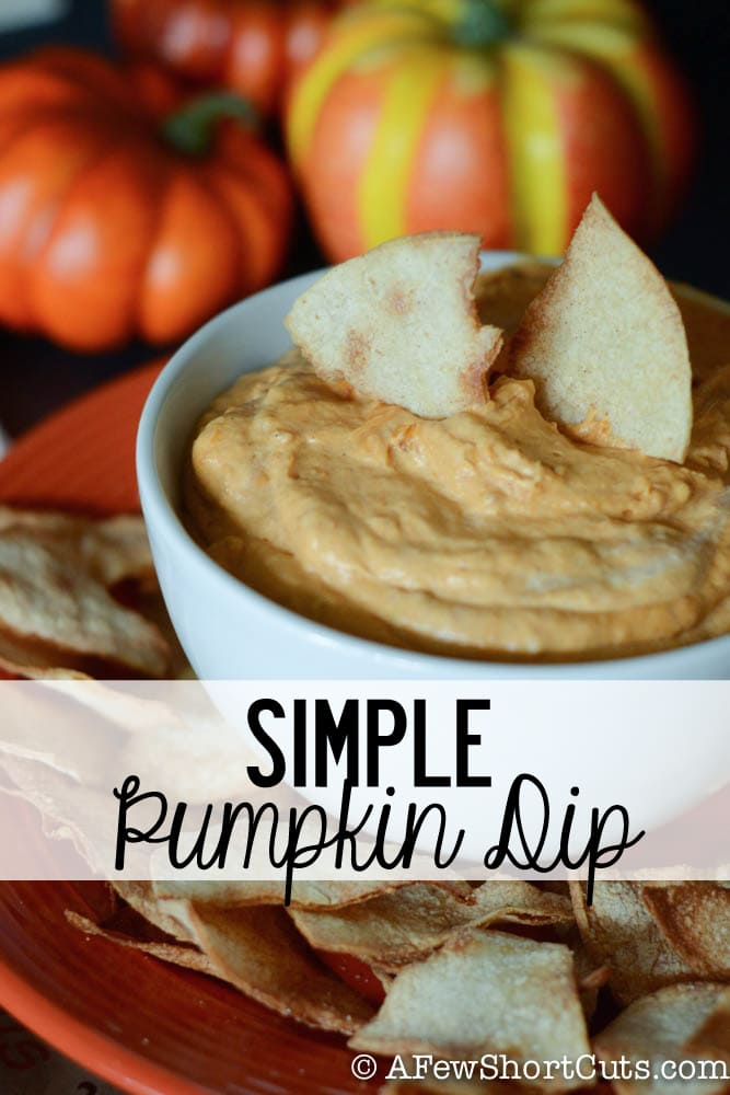 A taste of fall in every bite. Wow any sized crowd with this Simple Pumpkin Dip Recipe