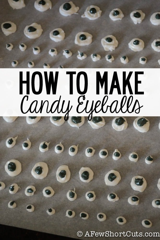 Be a yes mom and make these candy eyes for on everything! Learn how to make these Candy Eyeballs with this simple recipe!