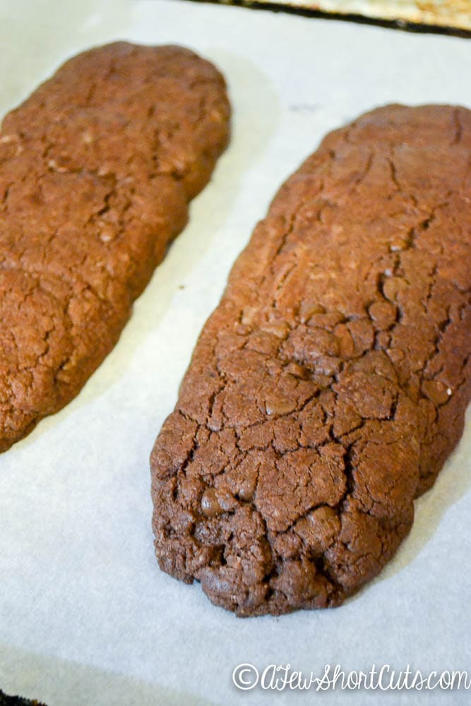 Brownie Peppermint Biscotti-4