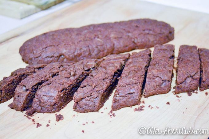 Brownie Peppermint Biscotti-5