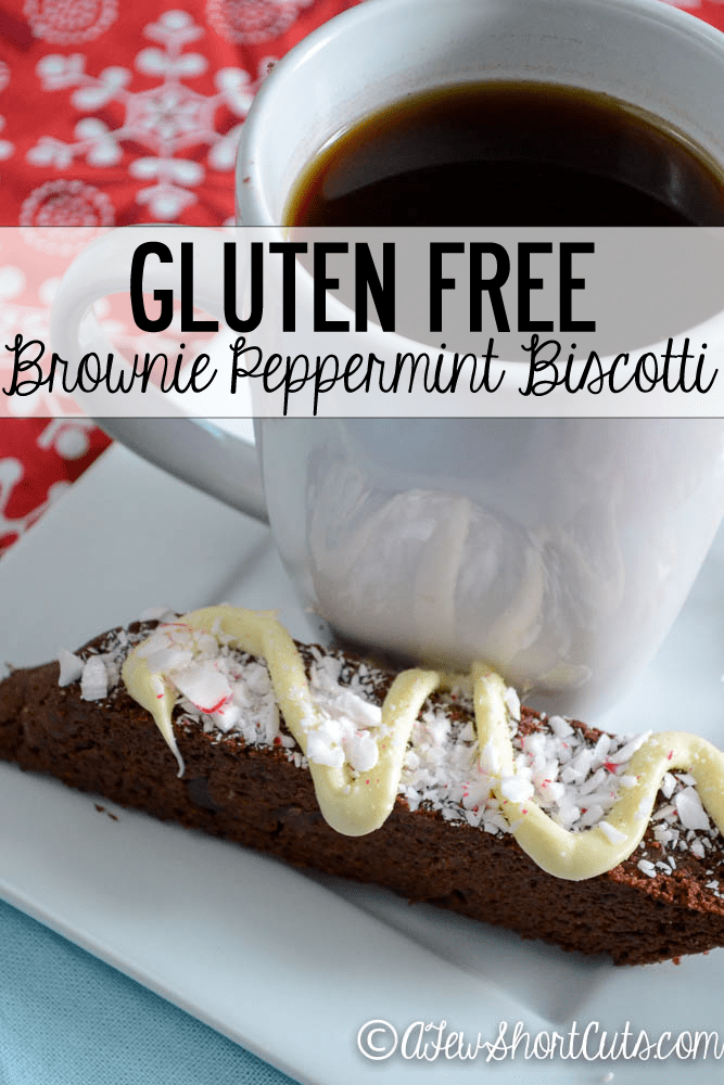 Give as a gift, or enjoy yourself. Try this Simple Gluten Free Brownie Biscotti Recipe