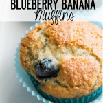 Blueberry-Banana-Muffins