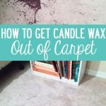 How-to-get-Candle-Wax-out-of-carpet