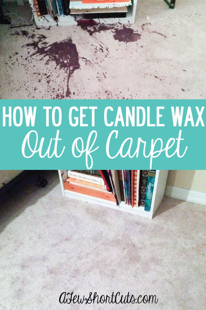 how to get candle wax out of carpet a few shortcuts. Black Bedroom Furniture Sets. Home Design Ideas