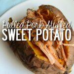 PUlled-pork-stuffed-Sweet-potato