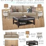 3.24 Pottery Barn Living Room for Less VERTICAL SHORTCUTS