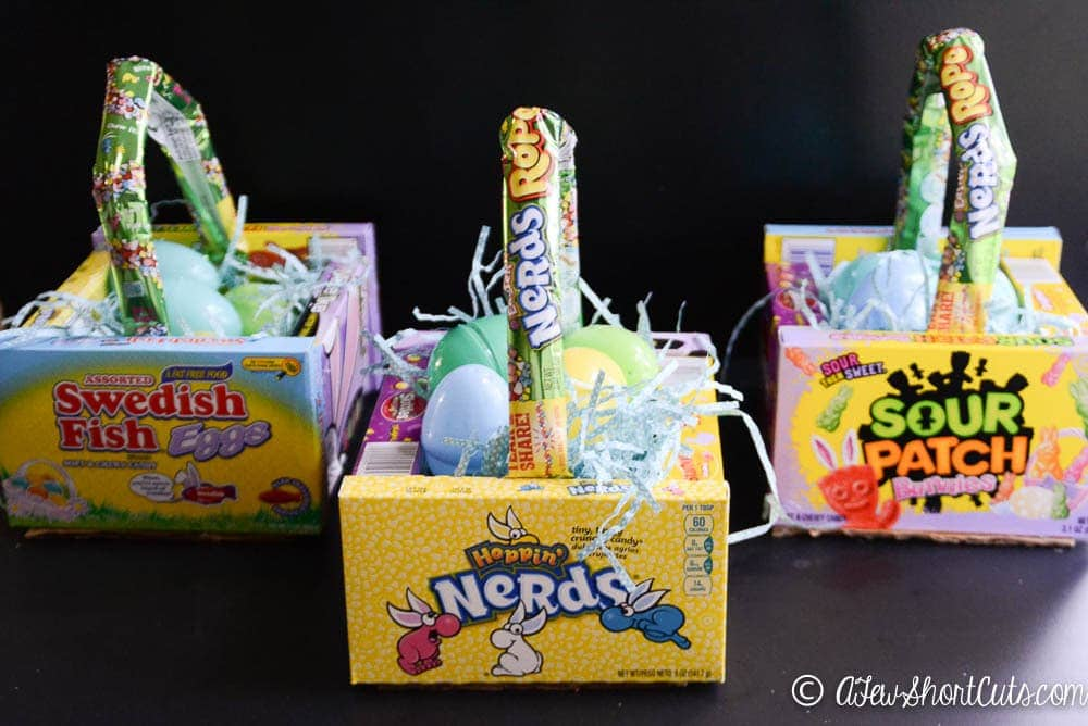 Such A Fun And Frugal Easter Basket Idea Check Out These DIY Theatre Candy