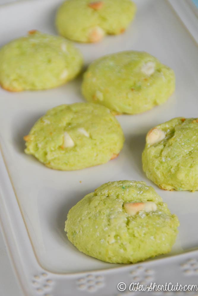 ... calls for a yummy treat. Try this super simple Key Lime Cookie Recipe