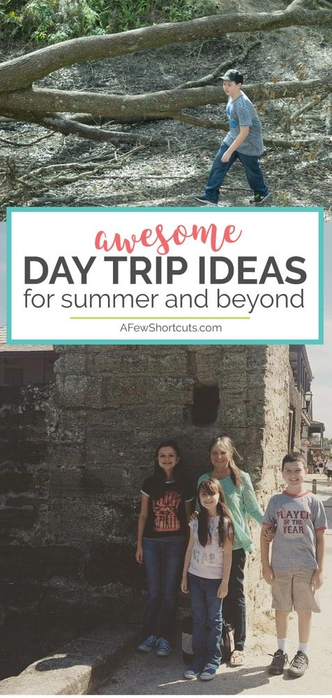 Make memories to last a lifetime without traveling far from home! Check out these awesome Day Trip Ideas for Summer and Beyond.